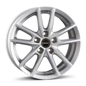 BORBET W crystal silver Ford Focus