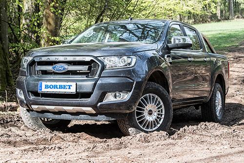 BORBET CW3 Felge auf dem Ford Ranger