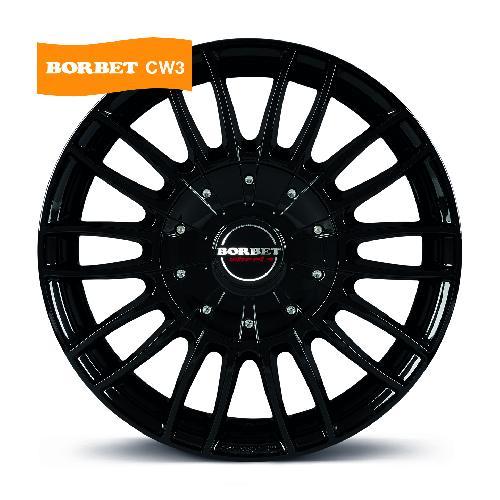 BORBET CW3 black glossy