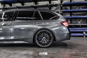 BMW F31 mit H&R Gewindefahrwerk