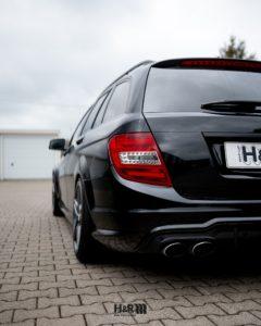 H&R Gewindefahrwerk für Mercedes C63 AMG T-Modell